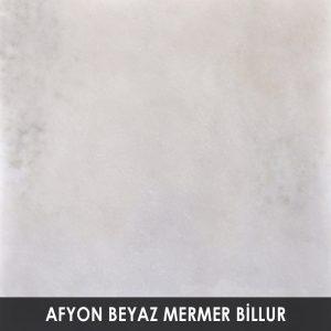 Afyon Beyaz Mermer Billur
